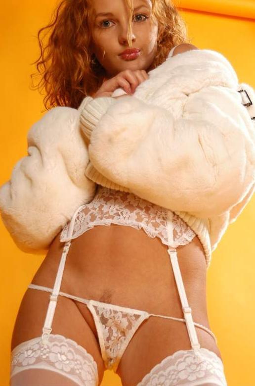 Красивая девушка в эротическом белье # 11