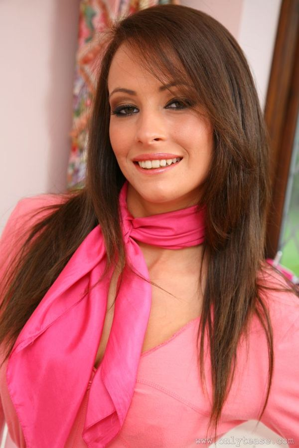 Сексуальные фото - красавица в розовом # 02