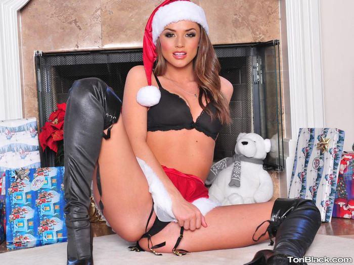 Рождественский фото Tori Black.  # 72